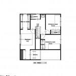 新潟市中央区関屋恵町の建物プラン例の2階間取り図
