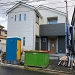 新潟市東区大山の新築住宅の外観