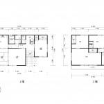 長岡市緑町の中古住宅の間取図