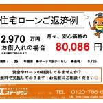 新潟市中央区女池上山の新築住宅の住宅ローン返済例
