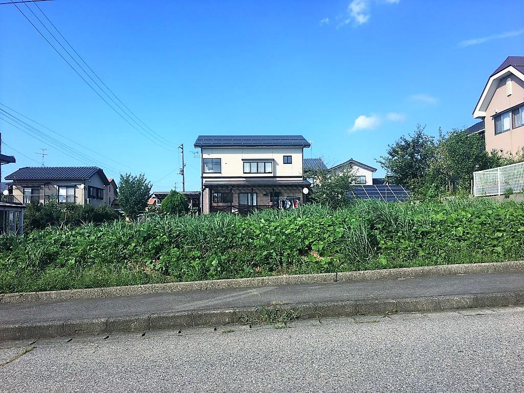 新発田市下小中山の土地の写真