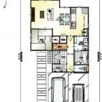 新潟市東区小金台の土地の建物プラン区画1(1階間取図)