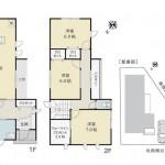 長岡市川崎の新築住宅の間取図(間取)