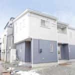長岡市川崎の新築住宅の写真(外観)