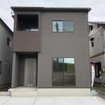 新発田市大栄町の新築住宅の写真