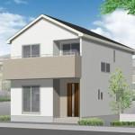 新潟市東区太平の外観完成予定パース
