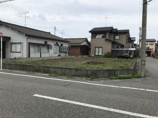 新潟市北区松浜東町の土地の写真