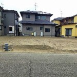 新潟市東区小金台の土地の現地写真