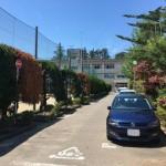 新潟市西区五十嵐の土地の近隣写真