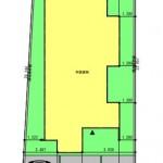 新潟市東区上木戸の土地の建物プラン例の配置図
