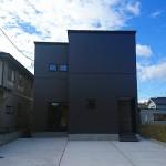 新潟市秋葉区善道町の新築住宅の写真
