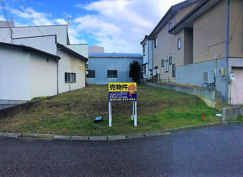 新潟市東区上木戸の土地の写真