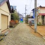 新潟市秋葉区荻島の土地の写真