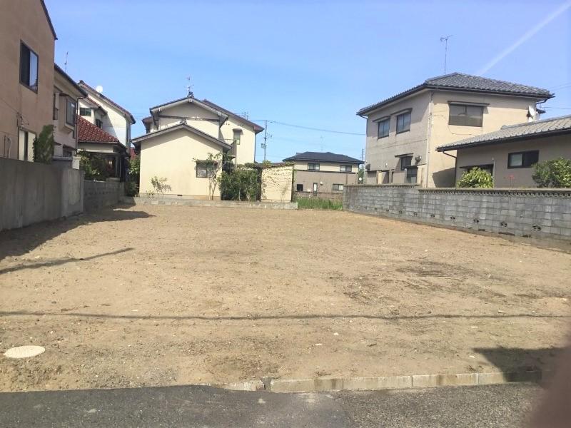 新潟市西区真砂の土地の写真