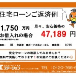 新潟市秋葉区新津東町の中古住宅の住宅ローン返済例