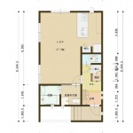 見附市新町の新築住宅の間取図(間取)