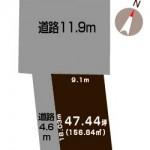 新潟市東区紫竹の【土地】不動産情報*h2018120004