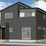 燕市吉田本所の新築住宅の写真(外観パース)