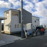 新潟市南区西白根の新築住宅の写真