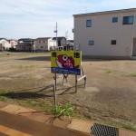 長岡市東栄の土地の写真(現地)
