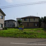 長岡市関原町の土地の写真(現地)