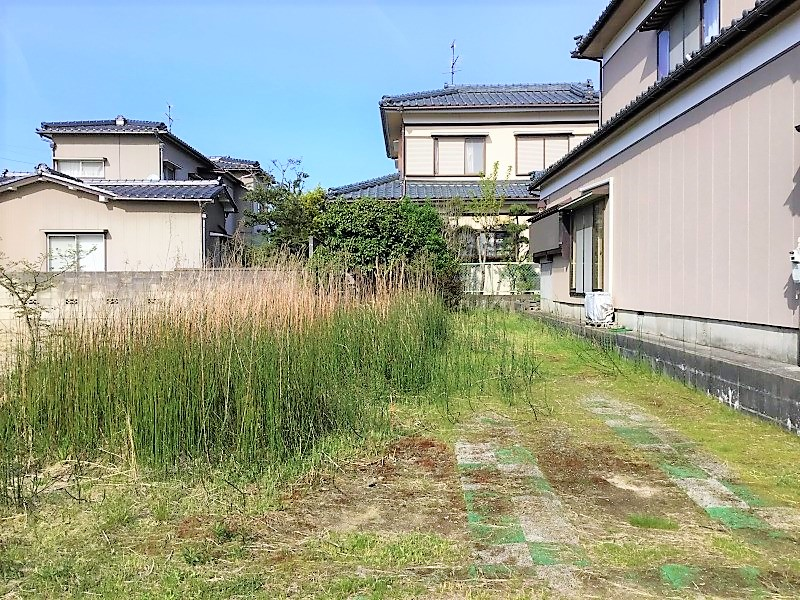 新潟県江南区北山の土地の写真