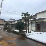 長岡市美沢の土地の写真(前面道路)