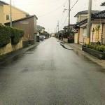 新発田市豊町の土地の写真
