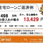 新潟市東区東明マンションの住宅ローンご返済例