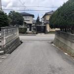新潟市西区五十嵐2の町の中古住宅の写真