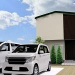 新潟市秋葉区小須戸の土地の建物プラン例