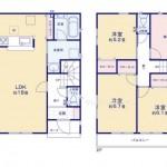 新潟市西区真砂町の新築住宅の写真