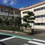 新潟市北区つくし野の新築住宅の近隣写真