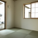 新潟市江南区早通の新築住宅の写真