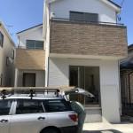 新潟市中央区鐙西の新築住宅の写真