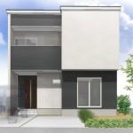 新潟市中央区四ツ屋町の土地のセットプラン画像