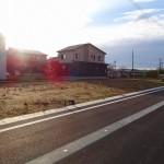 長岡市下山の土地の写真 造成完了は8月末予定