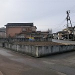 長岡市上除町の土地の写真(現地)