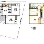 新潟市東区中木戸の【中古住宅】不動産情報の間取図