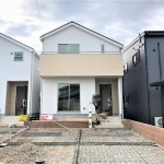 新潟市江南区天野の新築住宅の写真