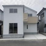 新潟市中央区姥ケ山の新築住宅の写真