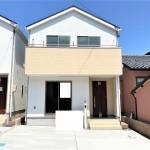 新潟市東区船江町の新築住宅の写真