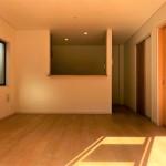 新潟市東区逢谷内の新築住宅の写真