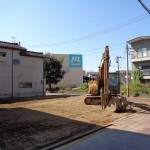 長岡市学校町の土地の写真(現地)