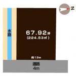 新潟市西区鳥原の敷地図
