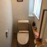 新潟市東区白銀の【中古住宅】不動産情報のトイレ(一階)