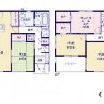 新潟市東区寺山の【新築住宅】区画1の不動産情報の住宅プラン例(間取図)