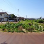 長岡市東与板の土地の写真