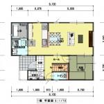 新潟市江南区横越東町の【土地・分譲地】区画4のセットプラン例