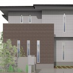 新潟市江南区横越東町の【土地・分譲地】(完全分離型二世帯住宅)のセットプラン例